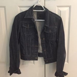 The Limited dark denim jean jacket